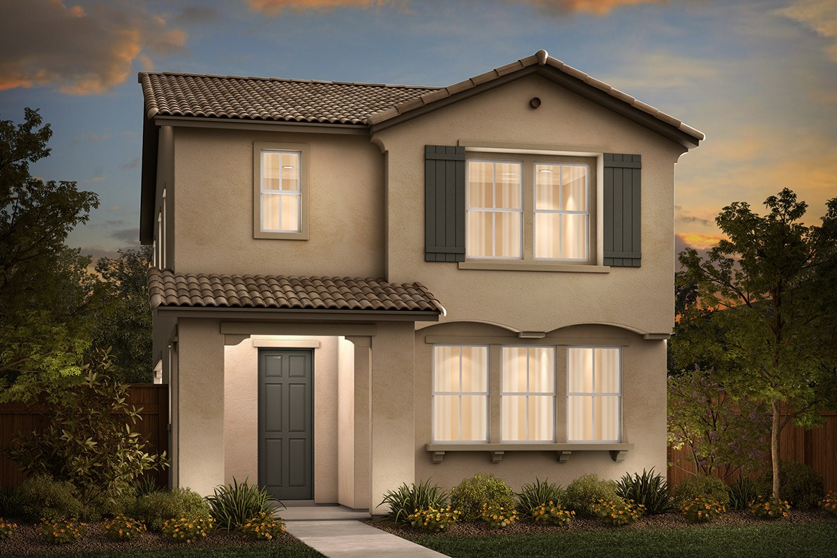 New Homes in Sacramento, CA - Stonybrook at The Hamptons Plan 2093 A