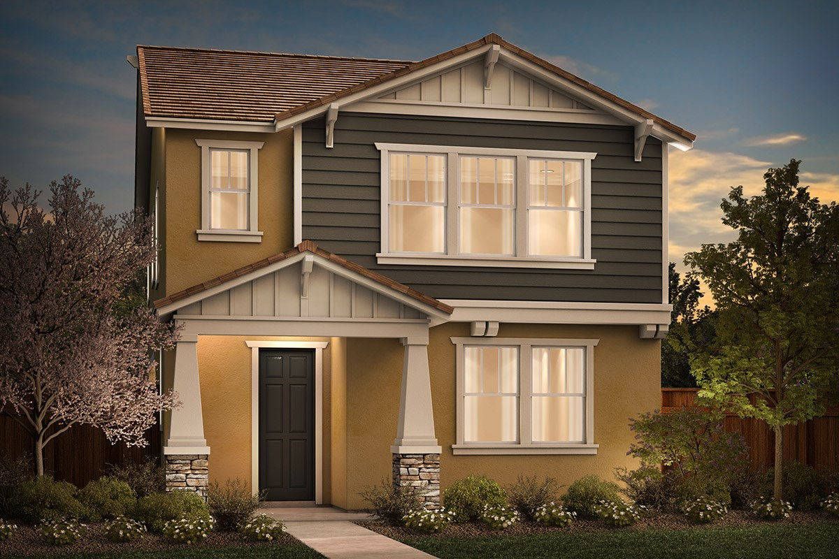 New Homes in Sacramento, CA - Stonybrook at The Hamptons Plan 2093 B