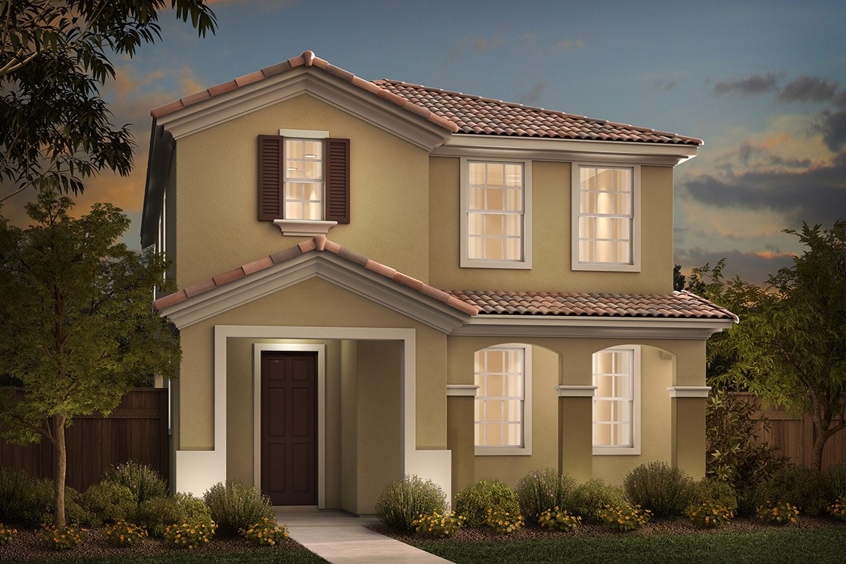 New Homes in Sacramento, CA - Stonybrook at The Hamptons Plan 2093 C