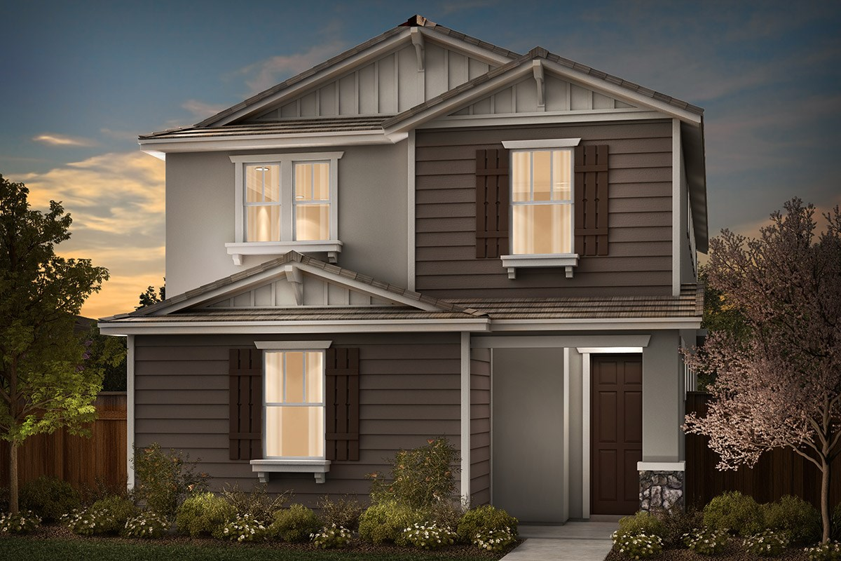 New Homes in Sacramento, CA - Stonybrook at The Hamptons Plan 2204 B