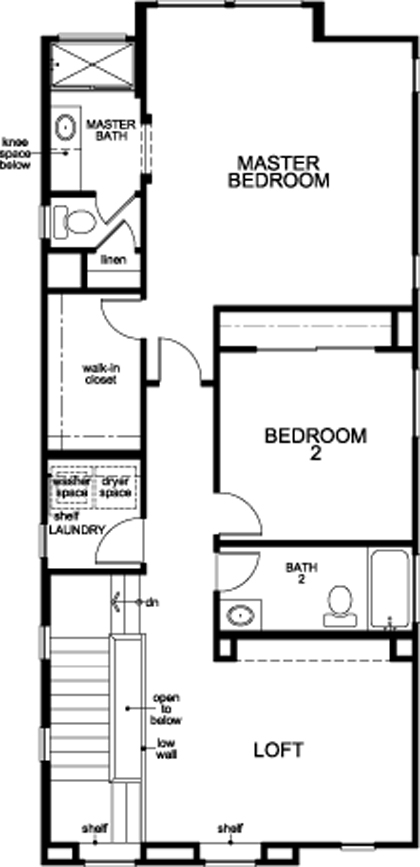 Plan 1721 New Home Floor Plan In Stonybrook At The