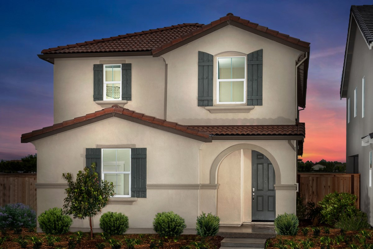 New Homes in Sacramento, CA - Stonybrook at The Hamptons Plan 2204 Exterior