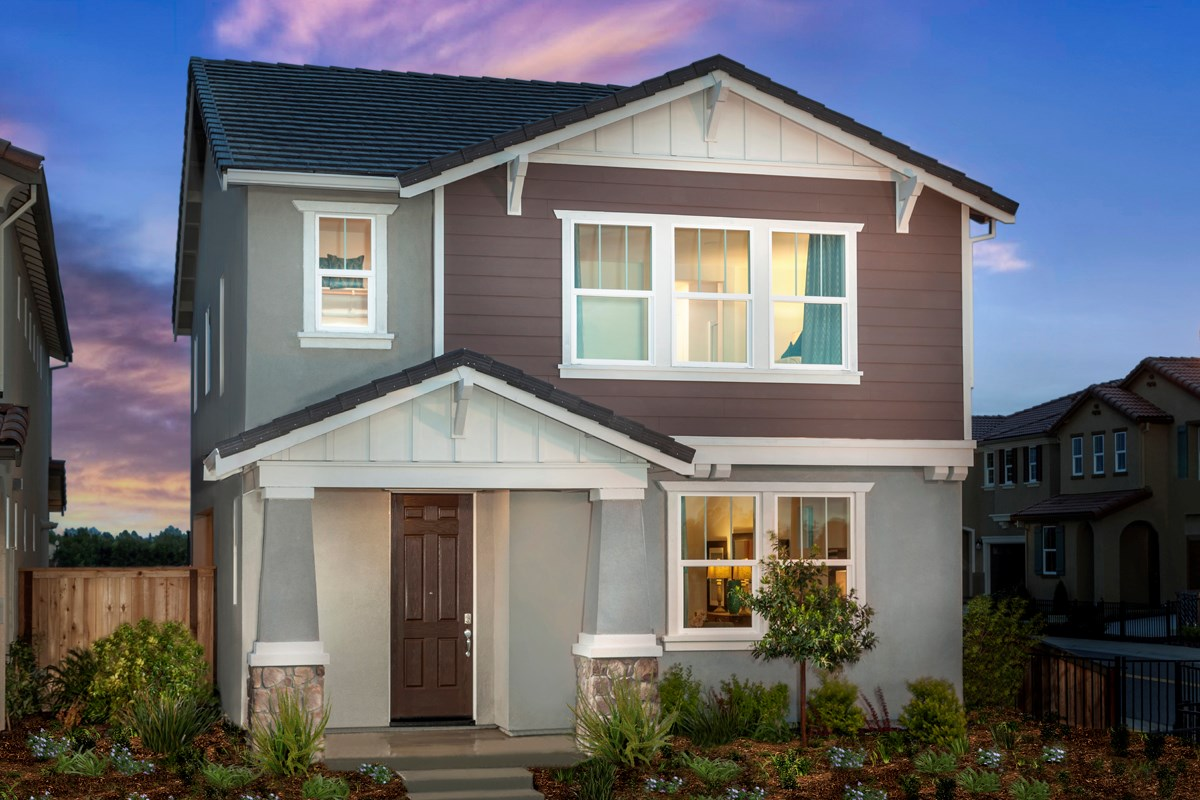 New Homes in Sacramento, CA - Stonybrook at The Hamptons Plan 2093 Exterior