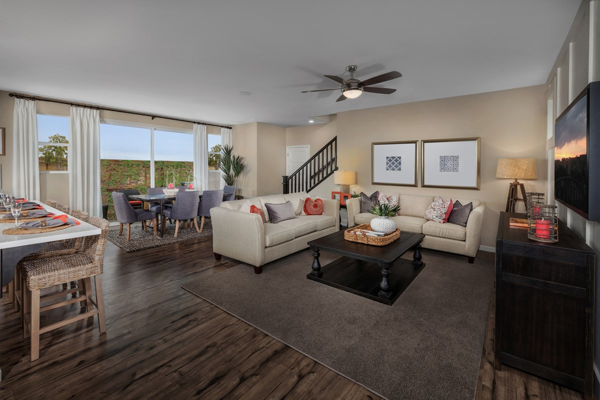 New Homes in Sacramento, CA - Stonybrook at The Hamptons Plan 2204 Great Room