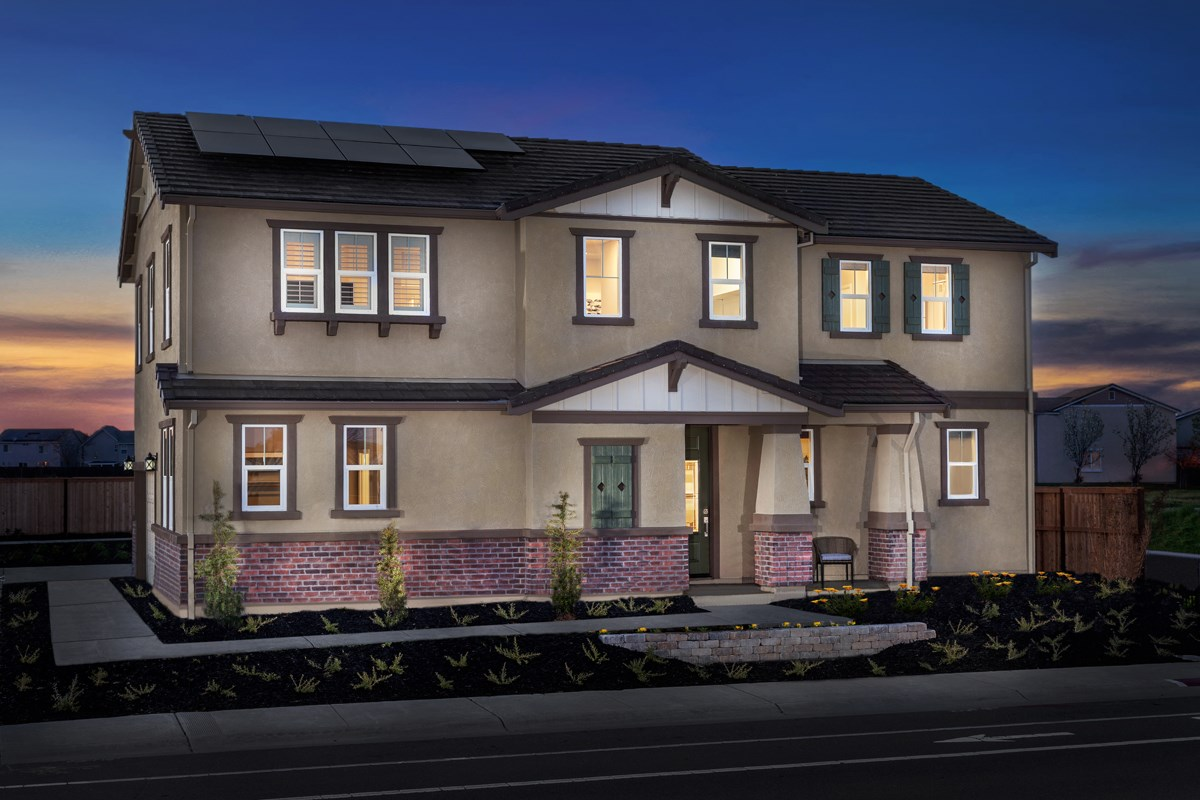 New Homes in Sacramento, CA - Trevato Plan 2413 Exterior