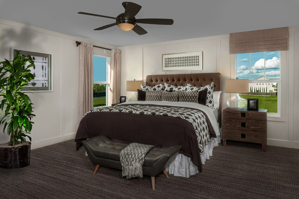 New Homes in Sacramento, CA - Trevato Plan 2413 Master Bedroom
