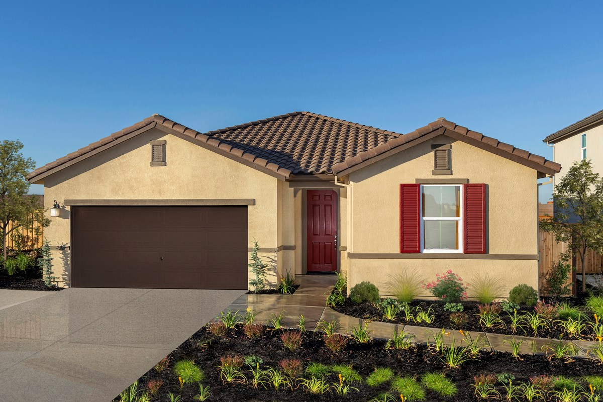 New Homes in Lincoln, CA - Ventana Plan 2188 - Tuscan Elevation (E)