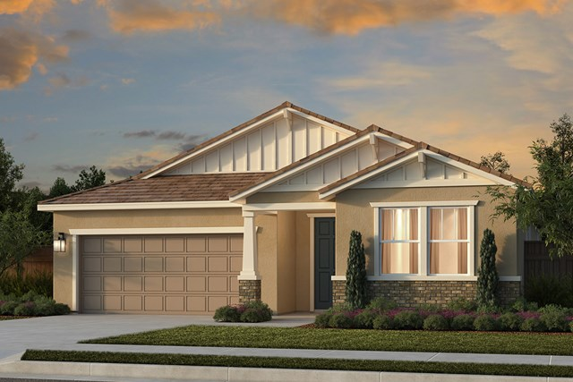 New Homes in Lincoln, CA - Plan 2188 - Craftsman Elevation