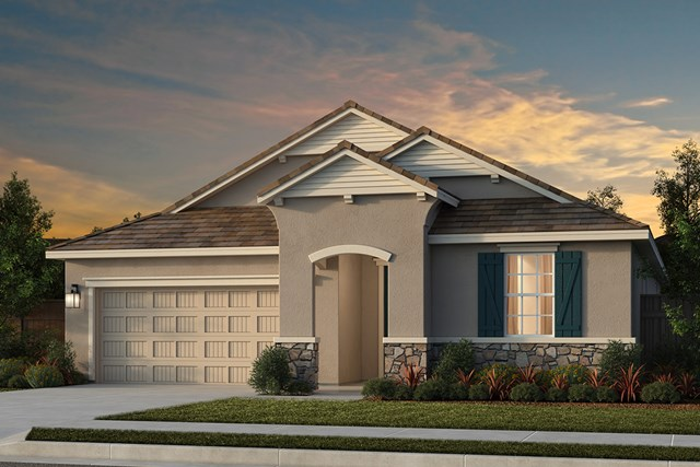 New Homes in Lincoln, CA - Plan 2188 - French Cottage Elevation