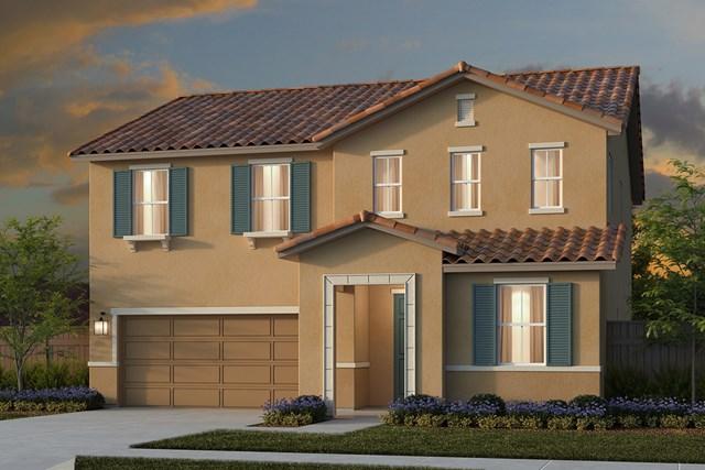 New Homes in Lincoln, CA - Plan 2376 - Tuscan Elevation