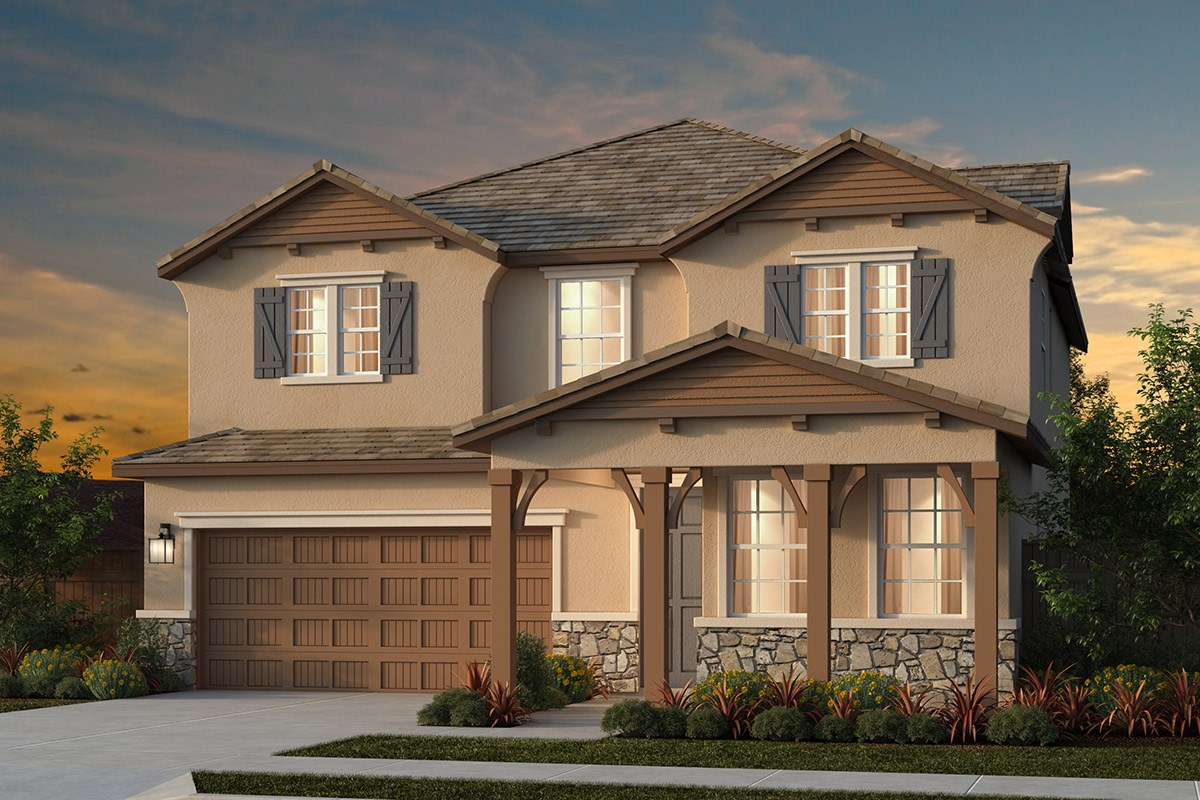 New Homes in Lincoln, CA - Ventana Plan 2674 - Elevation D