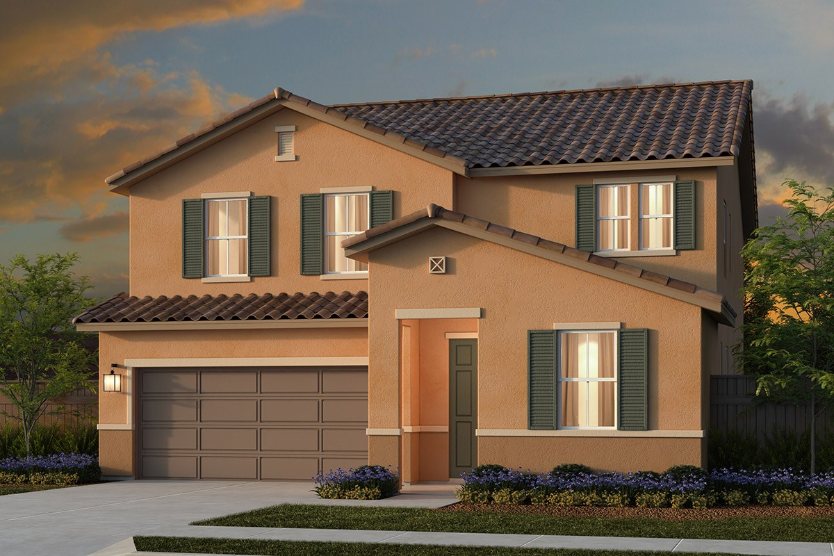 New Homes in Lincoln, CA - Ventana Plan 2674 - Tuscan Elevation (E)