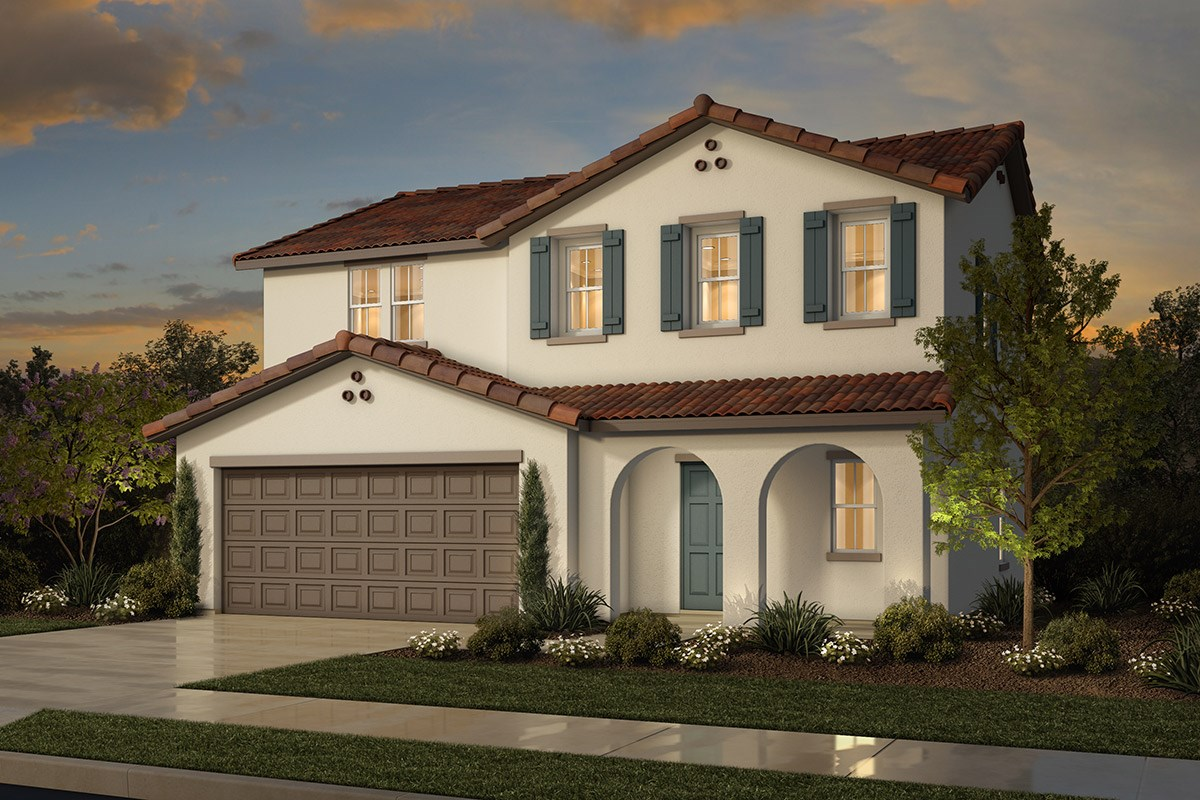 New Homes in Sacramento, CA - Westbury at The Hamptons Plan 1 - Spanish