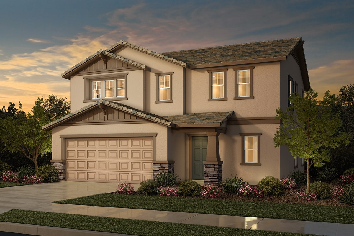 New Homes in Sacramento, CA - Westbury at The Hamptons Plan 1 - Craftsman