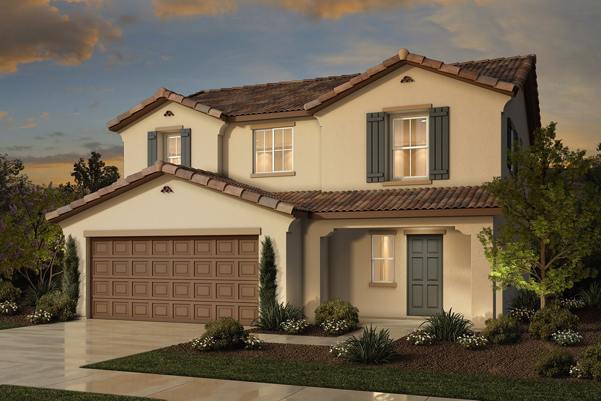 New Homes in Sacramento, CA - Westbury at The Hamptons Plan 2 - Spanish