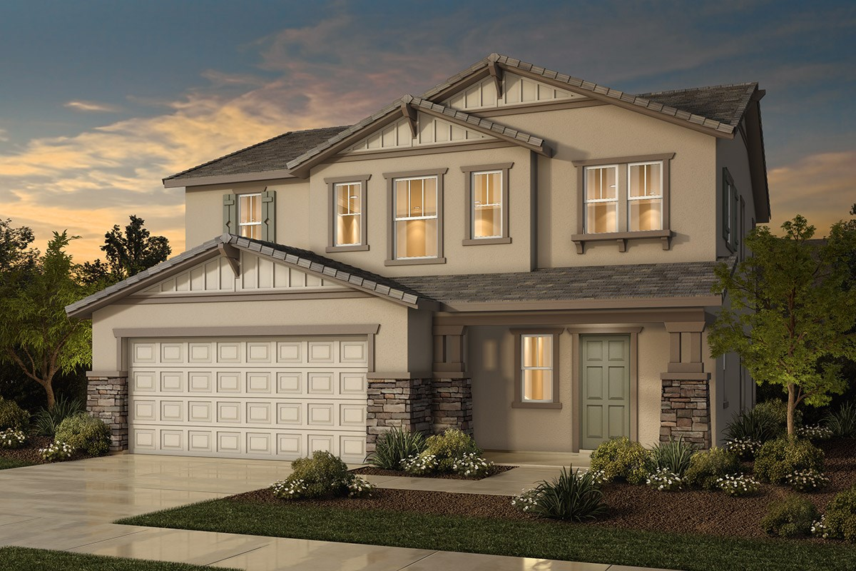 New Homes in Sacramento, CA - Westbury at The Hamptons Plan 2 - Craftsman