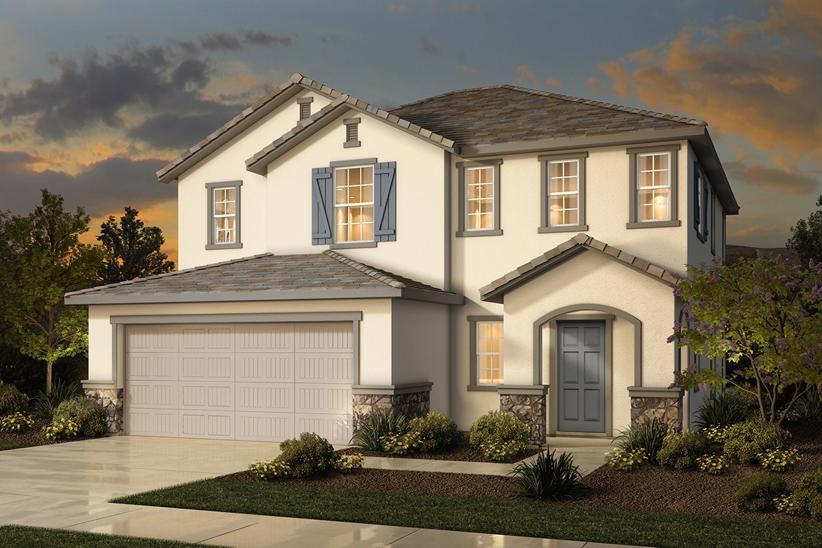 New Homes in Sacramento, CA - Westbury at The Hamptons Plan 2 - French