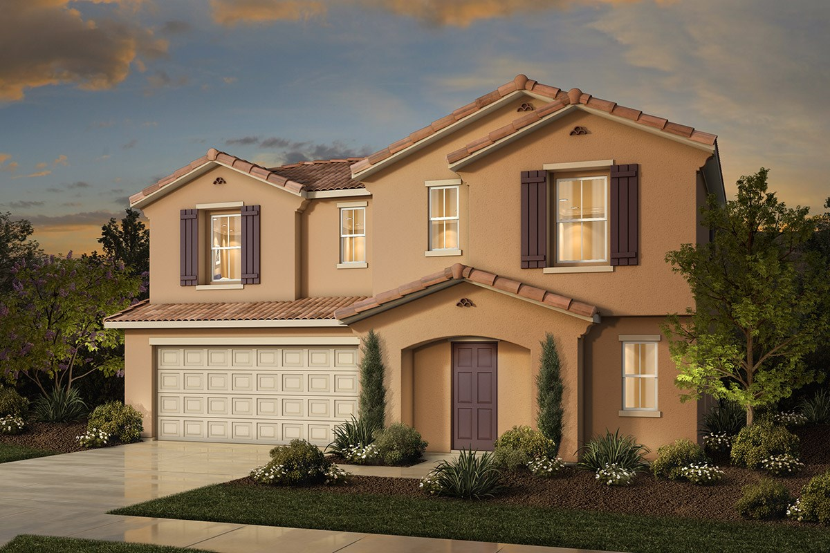 New Homes in Sacramento, CA - Westbury at The Hamptons Plan 3 - Spanish