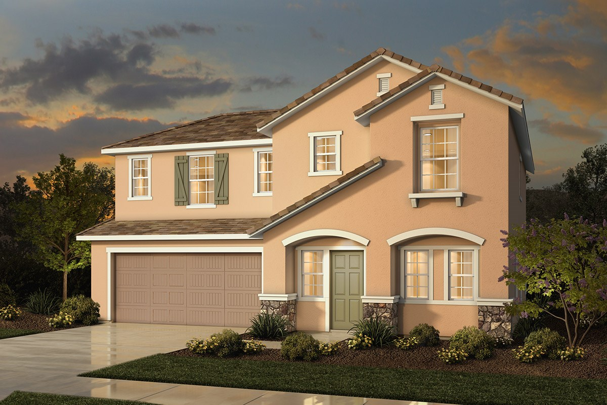 New Homes in Sacramento, CA - Westbury at The Hamptons Plan 3 - French