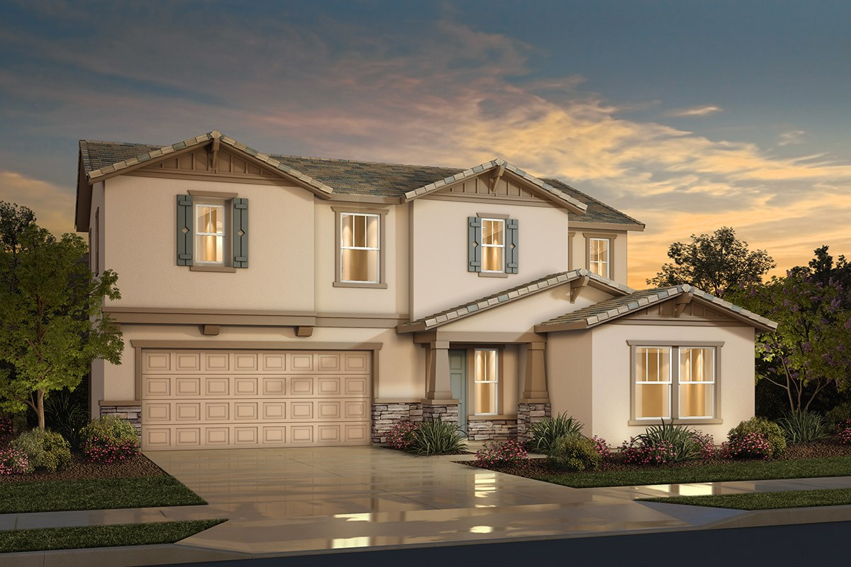 New Homes in Sacramento, CA - Westbury at The Hamptons Plan 4 - Craftsman