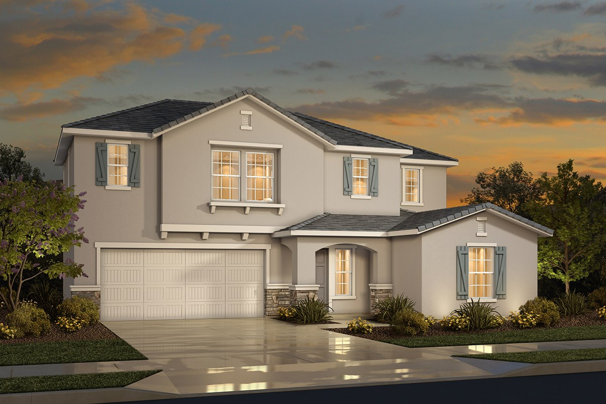 New Homes in Sacramento, CA - Westbury at The Hamptons Plan 4 - French