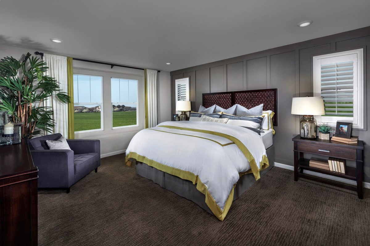 New Homes in Sacramento, CA - Westbury at The Hamptons Plan 3 Master Bedroom