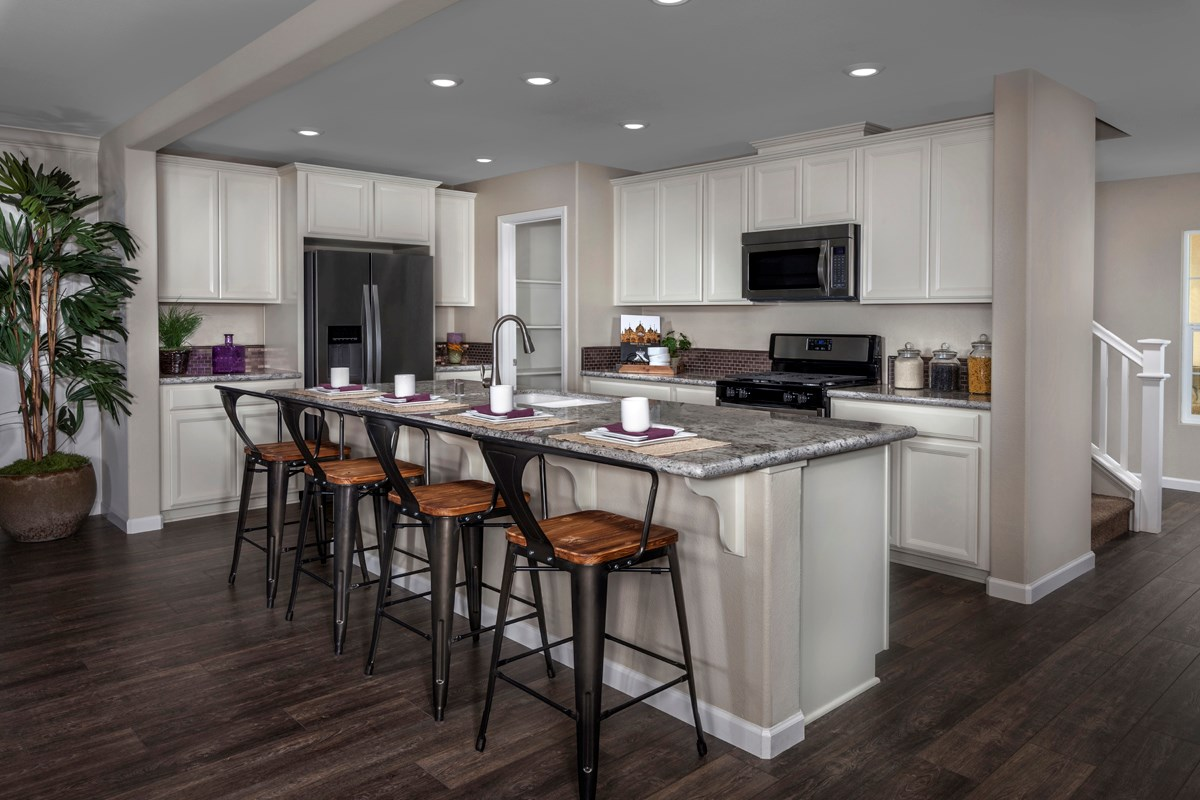 New Homes in Sacramento, CA - Westbury at The Hamptons Plan 4 Kitchen