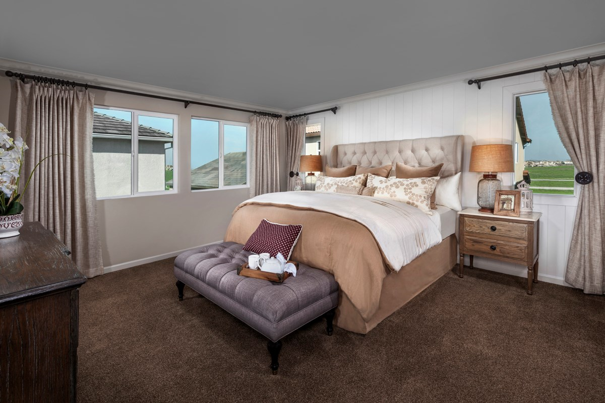 New Homes in Sacramento, CA - Westbury at The Hamptons Plan 4 Master Bedroom