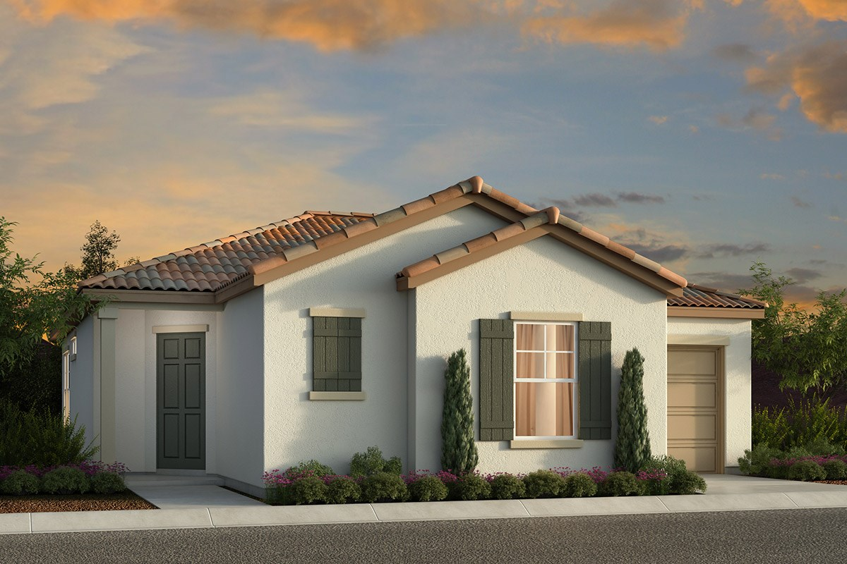 New Homes in Elk Grove, CA - Willow Creek at Monterey Village Plan 1001 A