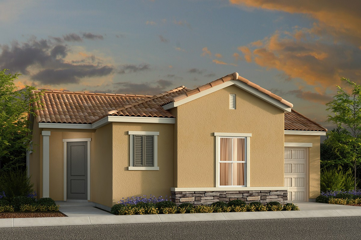 New Homes in Elk Grove, CA - Willow Creek at Monterey Village Plan 1001 E
