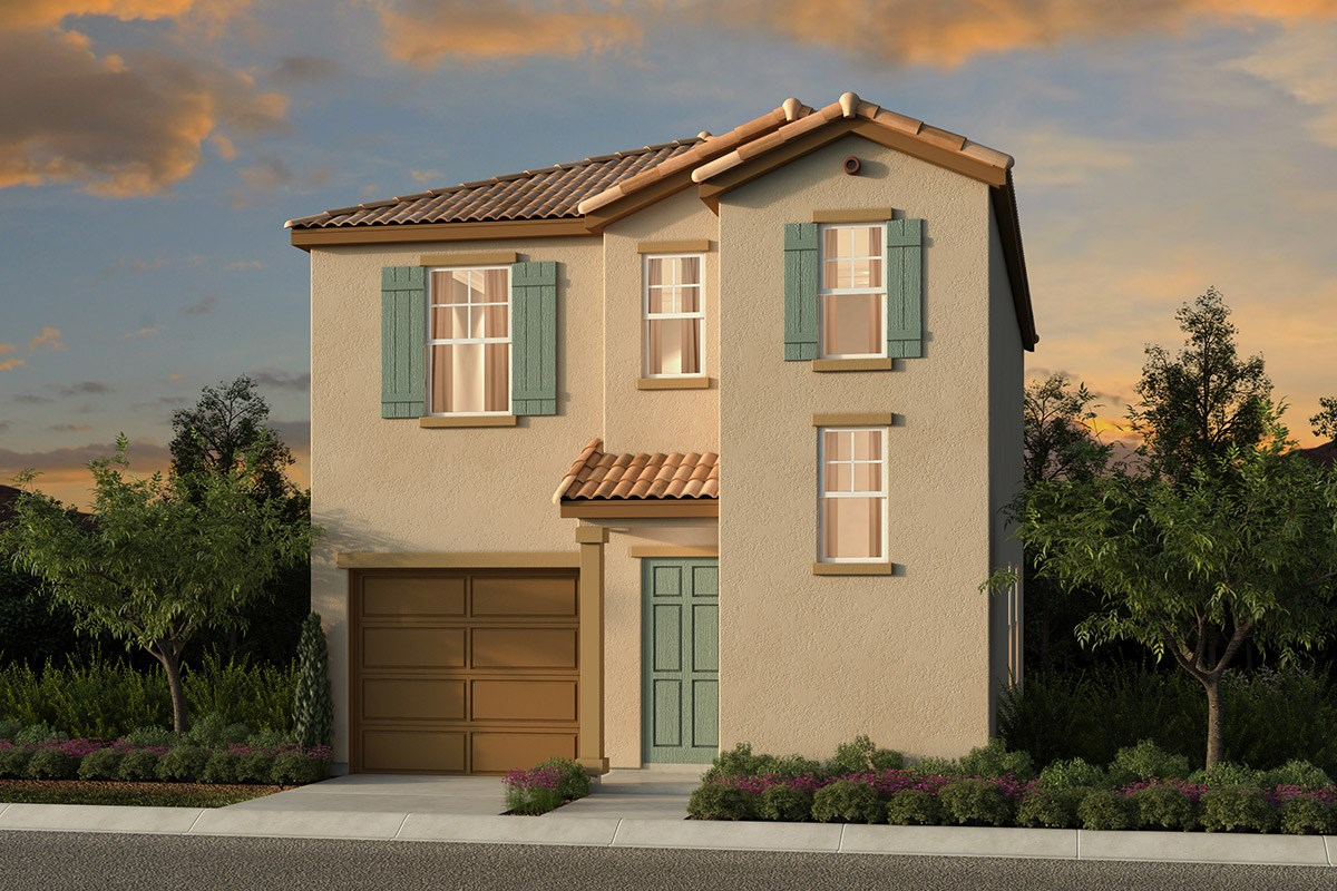 New Homes in Elk Grove, CA - Willow Creek at Monterey Village Plan 1303 A