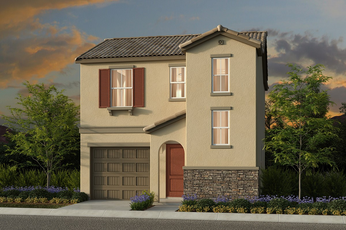 New Homes in Elk Grove, CA - Willow Creek at Monterey Village Plan 1303 E