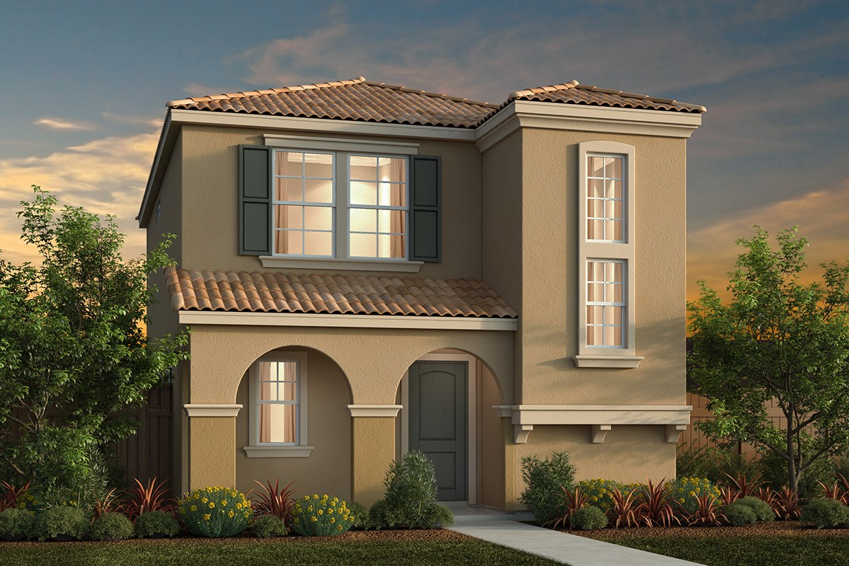 New Homes in Elk Grove, CA - Willow Creek at Monterey Village Plan 1431 C