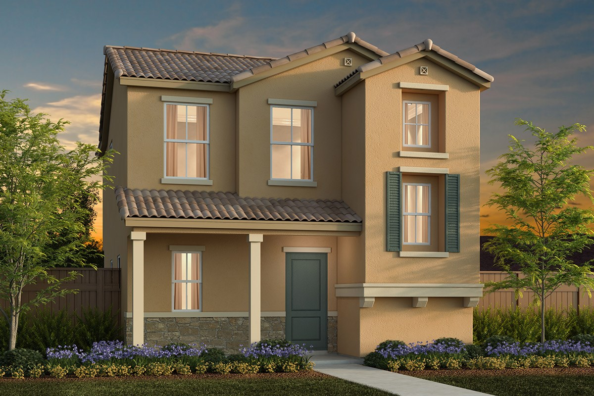 New Homes in Elk Grove, CA - Willow Creek at Monterey Village Plan 1431 E
