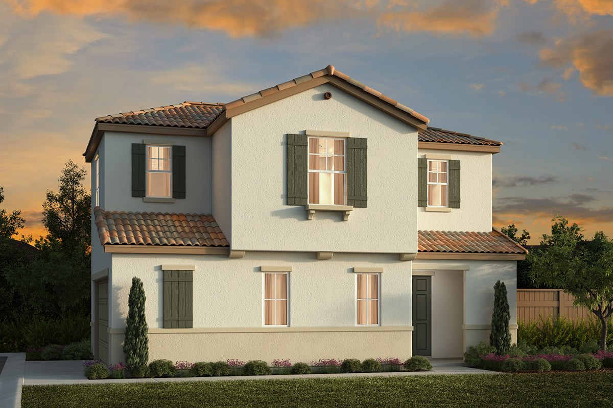 New Homes in Elk Grove, CA - Willow Creek at Monterey Village Plan 1697 A