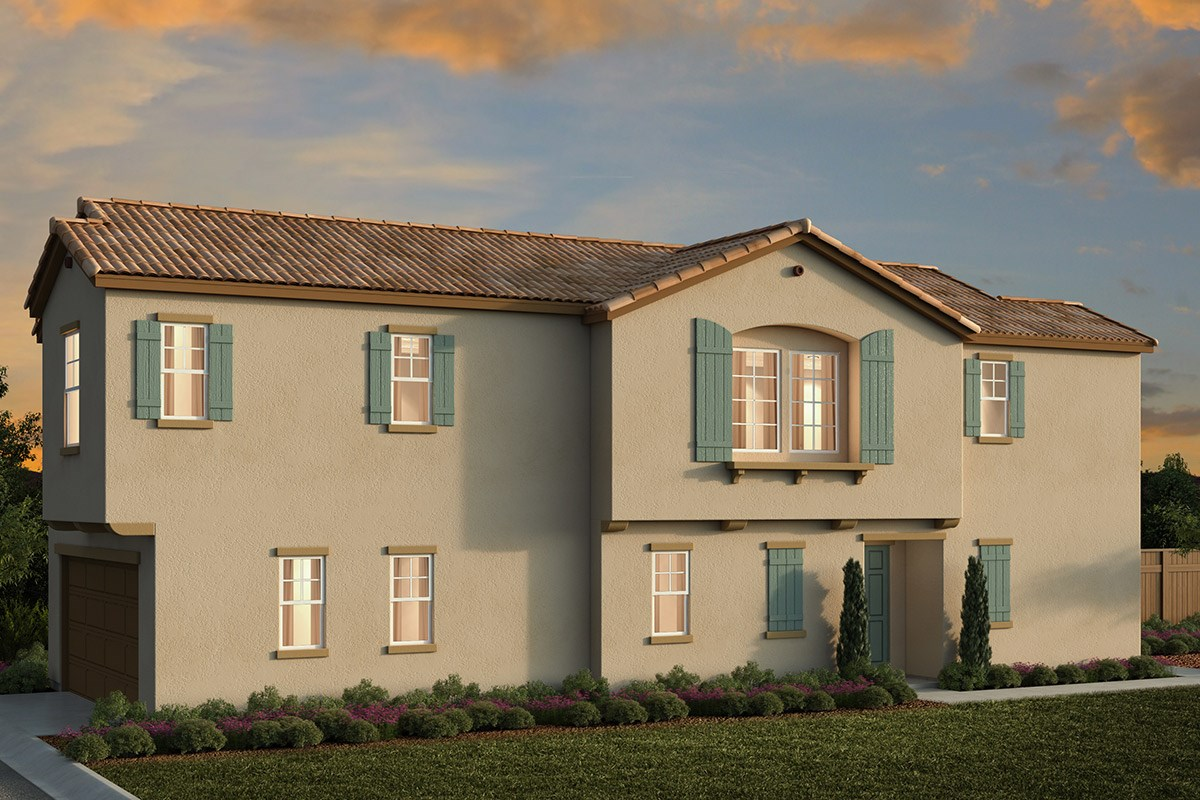New Homes in Elk Grove, CA - Willow Creek at Monterey Village Plan 1738 A