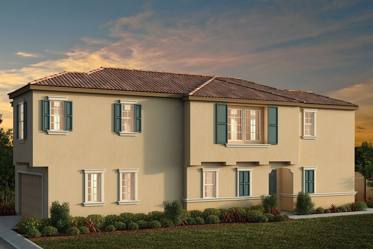 New Homes in Elk Grove, CA - Willow Creek at Monterey Village Plan 1738 C