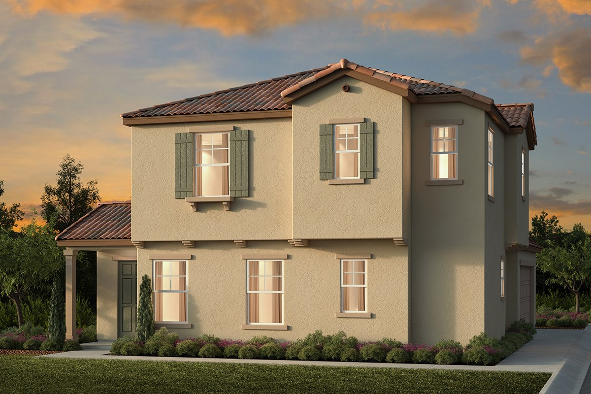 New Homes in Elk Grove, CA - Willow Creek at Monterey Village Plan 2107 A
