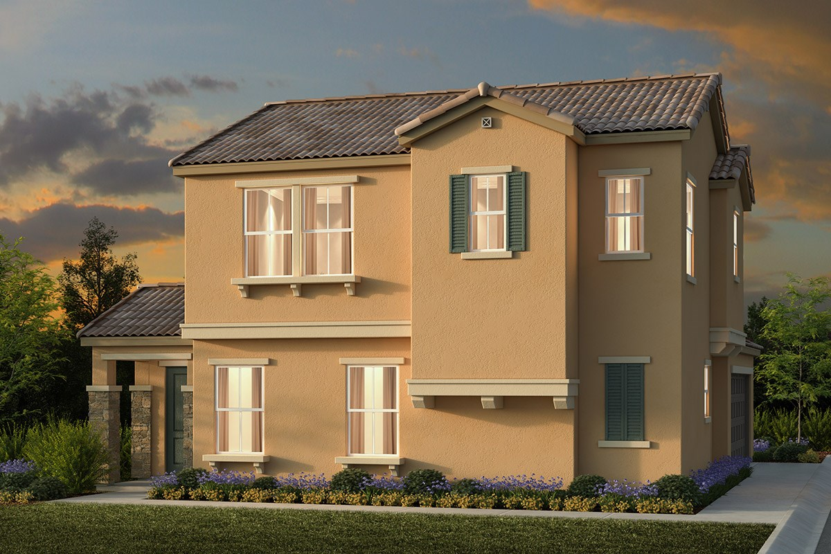 New Homes in Elk Grove, CA - Willow Creek at Monterey Village Plan 2107 E