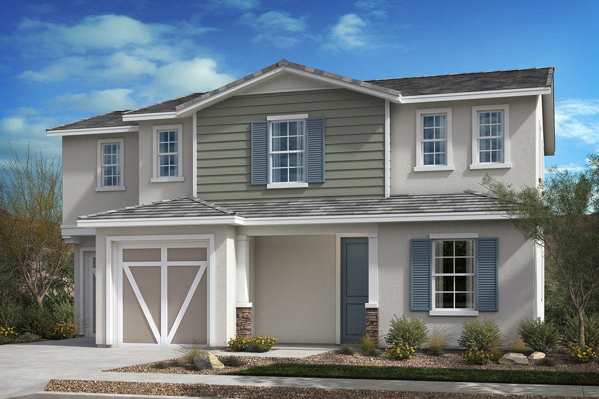 New Homes in Valley Center, CA - Bear Peak Residence One A
