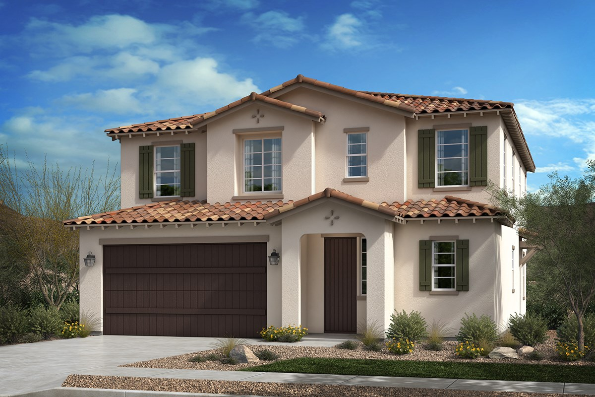 New Homes in San Diego, CA - Lakeshore Residence One 'A' Spanish