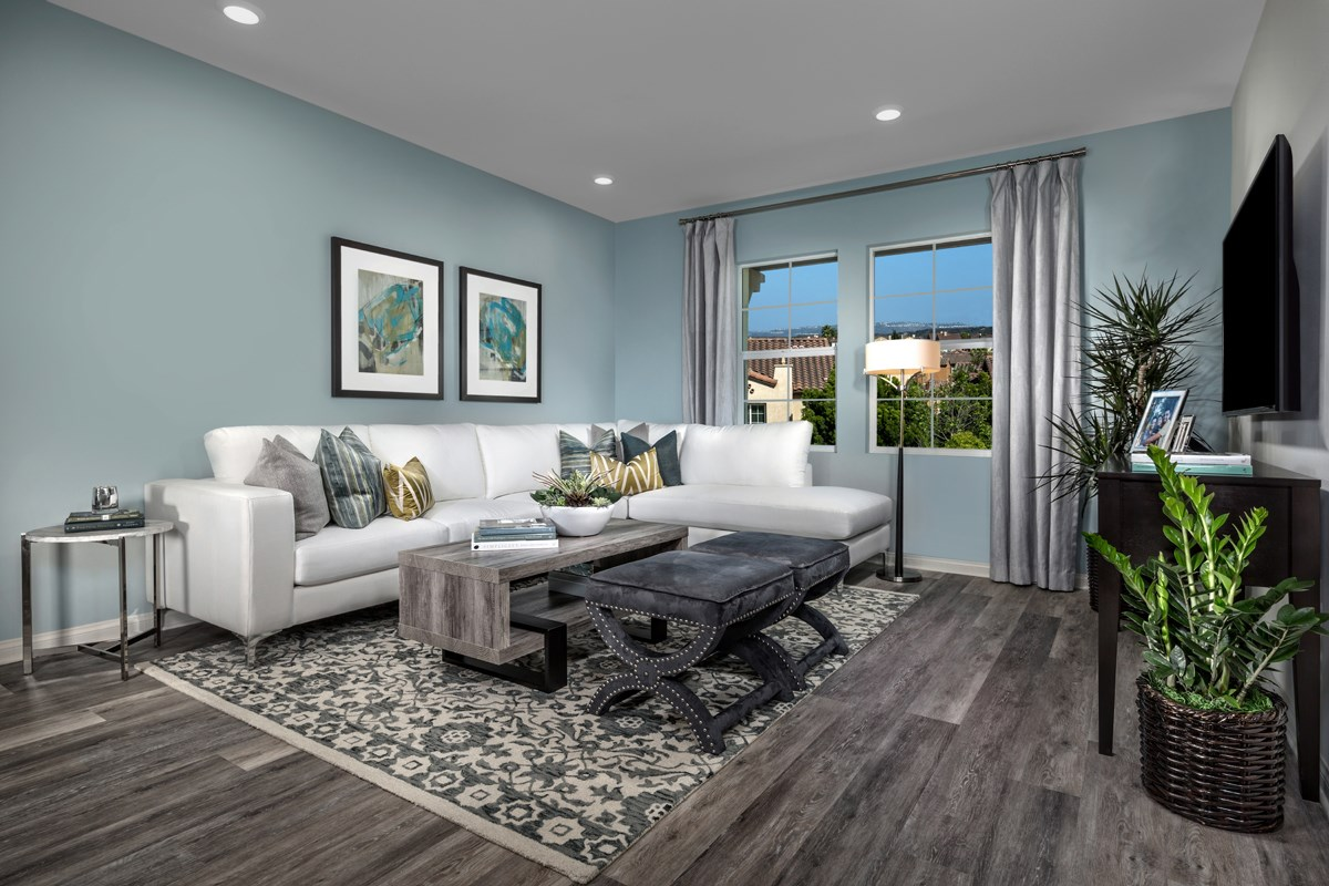 New Homes in San Diego, CA - Laterra Residence One Great Room