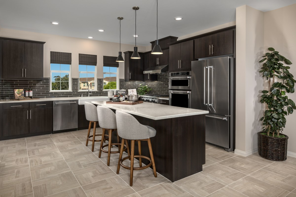 New Homes in San Diego, CA - Laterra Residence Two Kitchen