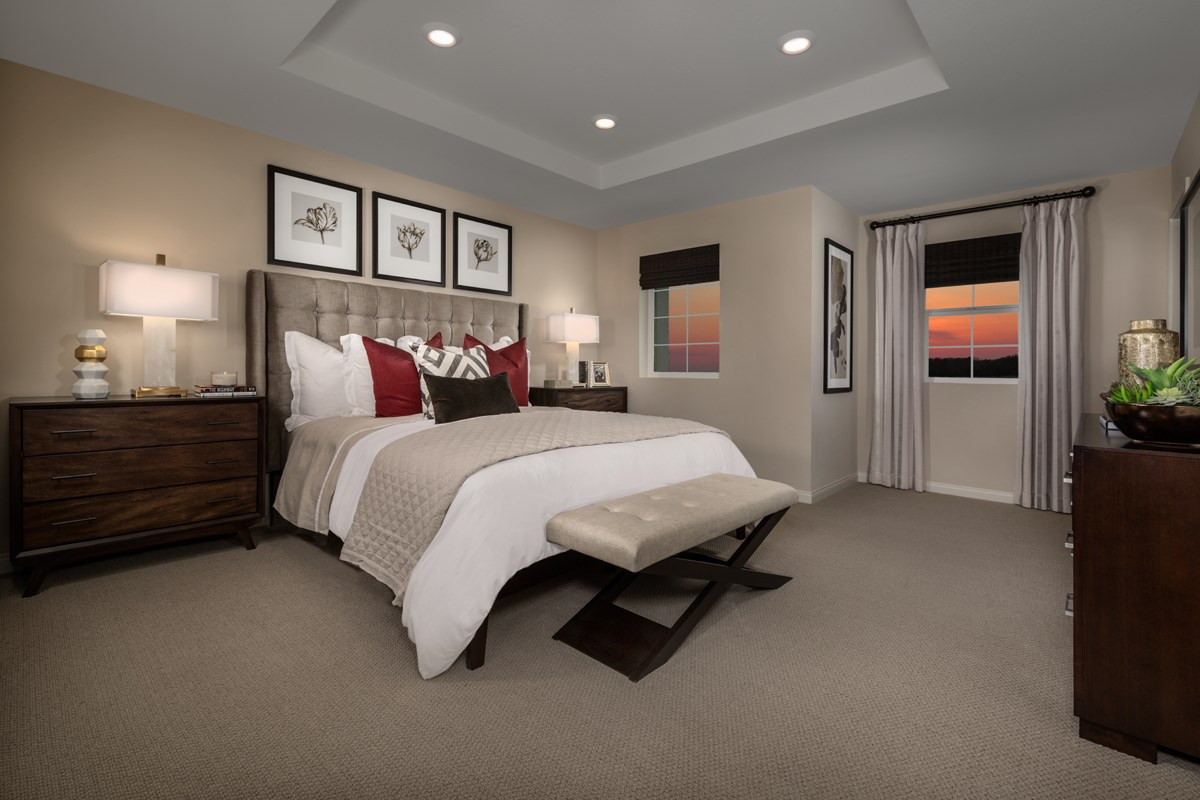 New Homes in San Diego, CA - Laterra Residence Two Master Bedroom