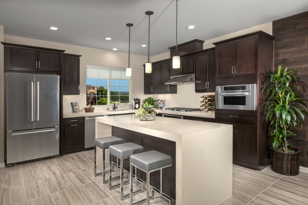 New Homes in San Diego, CA - Laterra Residence Three Kitchen