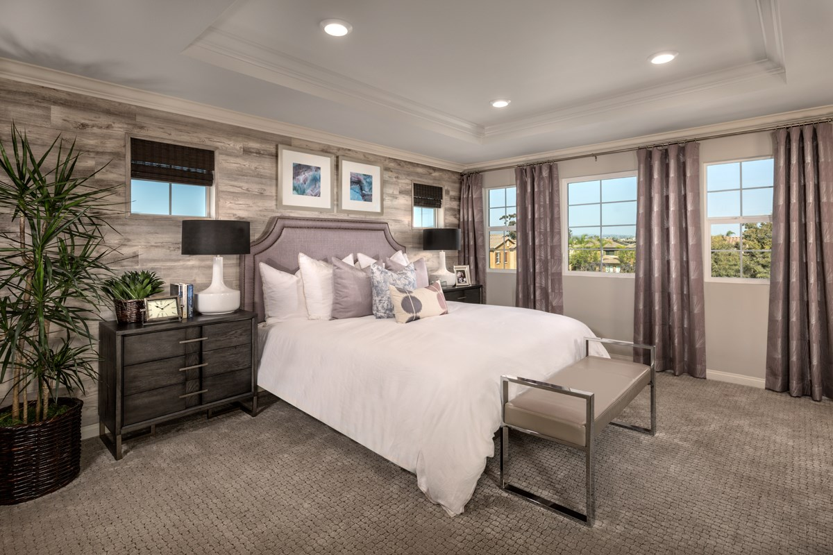 New Homes in San Diego, CA - Laterra Residence Four Master Bedroom