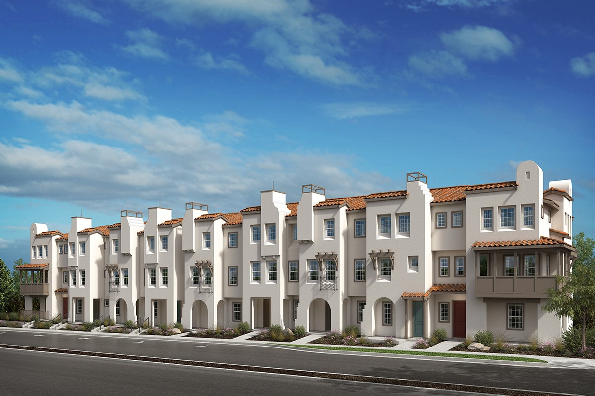 New Homes in San Diego, CA - Laterra Spanish Exterior Elevation