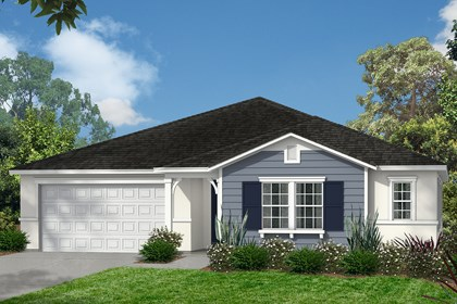 New Homes in Escondido, CA - American Traditional 'B'