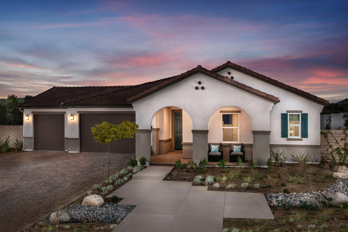 New Homes in Escondido, CA - Lexington Residence 1 Exterior