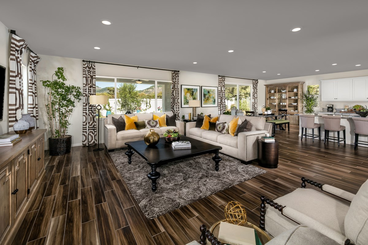 New Homes in Escondido, CA - Lexington Residence 3 Great Room